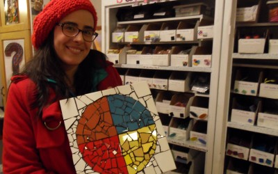New Beginner's Mosaics Class Added to 2013 Schedule!