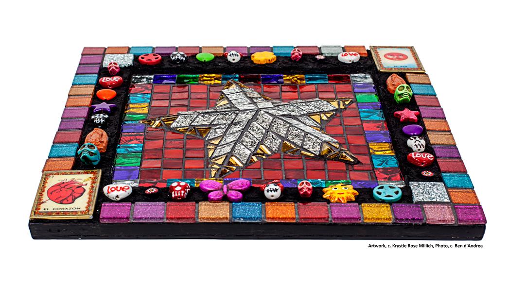 krystie rose millich denver tile mosaic artist fiesta star