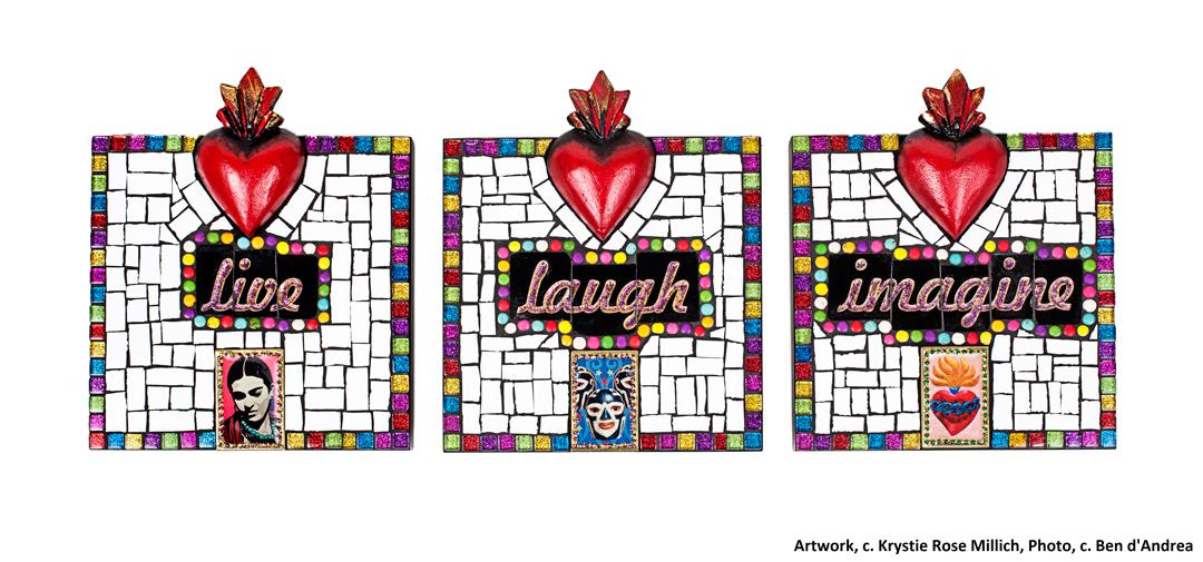 krystie rose millich tile mosaic artist in denver co live laugh love