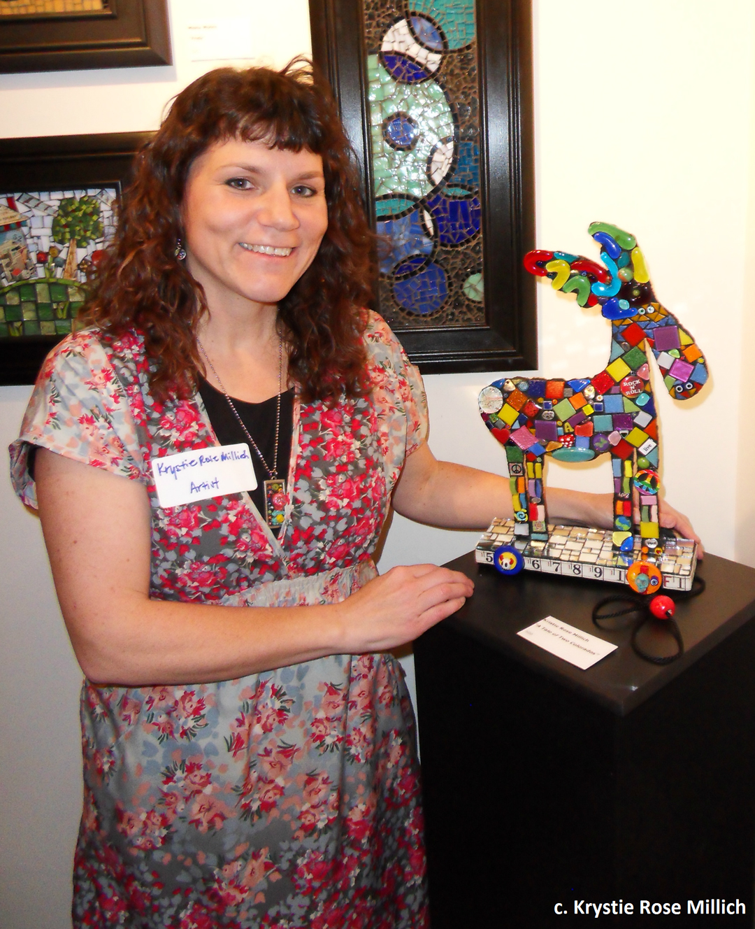 Tile Mosaic Artist Krystie Rose Millich Tale of Two Colorados