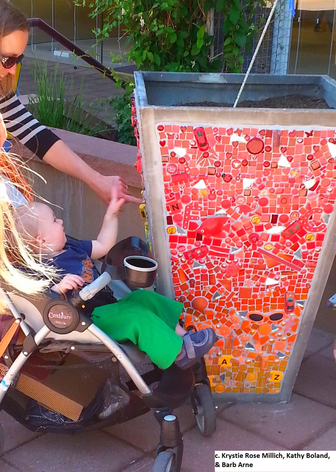 krystie rose millich denver boulder co tile mosaic aritst mosaic planter