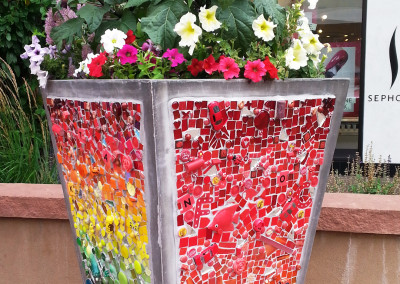"""Bloomin' Arts """"Colors in Bloom Planter"""""""