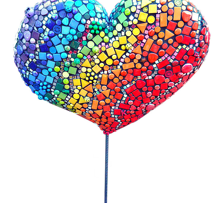 Puffy Heart Sculpture